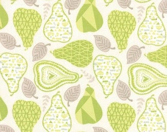 North Woods - Pears Spruce Green by Kate Spain from Moda