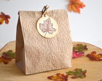 Maple Leaf Tags, Autumn Leaf Tags, Autumn Gift Tags, Étiquette Cadeaux Feuille D'érable