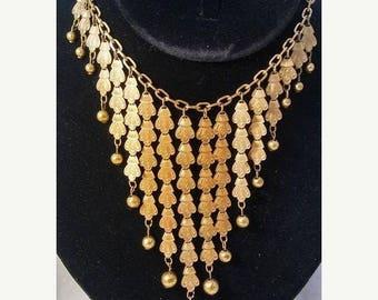 ON SALE Art Deco Necklace * Art Deco Statement Necklace * Art Deco Jewelry * 1920's 1930's Vintage Jewelry * Vintage Necklace * Bib Necklace
