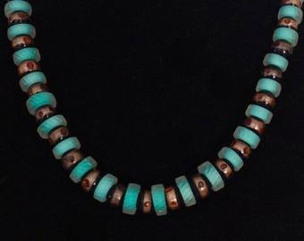 Glass Art Necklace by Penrose