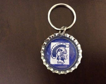 Bottle Cap Keychain - Highschools