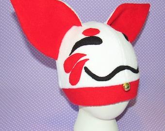 NEW Lucky Cat Fleece hat