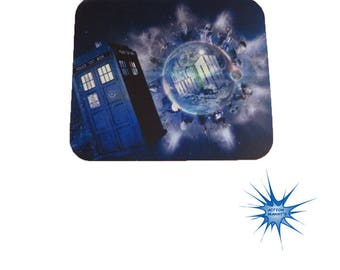 Dr Who Anti Slip PC Gamer Picture Mouse Pad