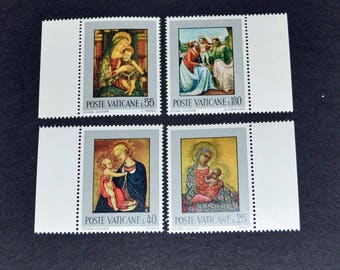 Vatican 9 mint stamps 1971