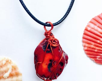 Coral Passion Necklace