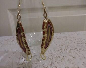 "Attractive Dangle 3"" earrings"