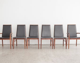 6 Mid Century Dillingham Dining Chairs