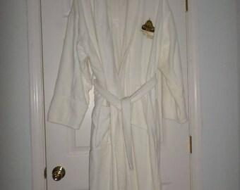 Terry Robe Spa Robe White Robe Hotel Robe Lush Terry Robe Terry Cotton Robe New Orleans Hotel