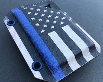 Hicks Holster Thin Blue Line Wallet