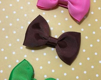 Hair bow set of 3