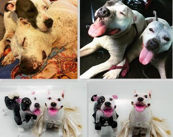 Custom handmade dogs weddings