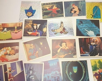 The Princess Collection 90s Panini Sticker Book Stickers (10 pc mixed)