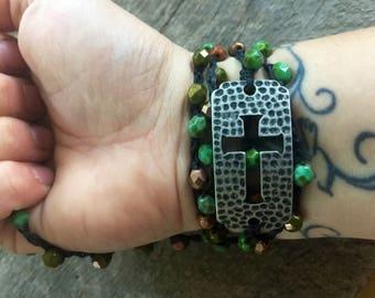 Heart Matters: Versatile crocheted necklace / bracelet / belt / headband