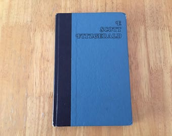 The Great Gatsby by F. Scott Fitzgerald   1950s Vintage   Hardcover   Novel   American Classic