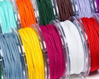 Best quality griffin nylon braided cord size 1.0 mm pool 50 m no stretch extra strong smooth and soft from Germany