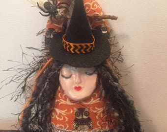 Halloween Witch Doll