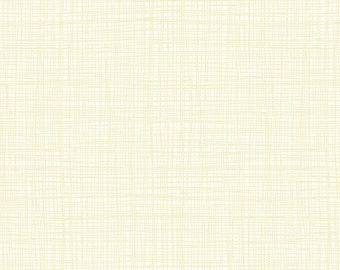 Linea - Linea in Vanilla - Makower UK for Andover Fabrics - TP-1525-Q1 - 1/2 yd