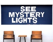 "RESERVED for E – See Mystery Lights 24"" x 36"" Print UNFRAMED"
