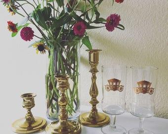 Vintage wine glasses - Drinking glasses
