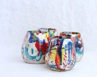 Small Wacky Vase Ready to Ship