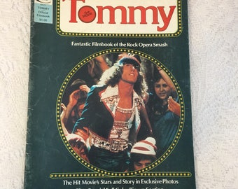 Tommy the Movie, Tommy Magazine, vintage magazine