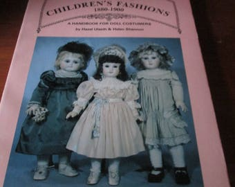 Antique Children's Fashions 1880-1900 by Hazel Ulseth and Helen Shannon