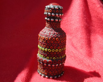 Red Bead tincture bottle
