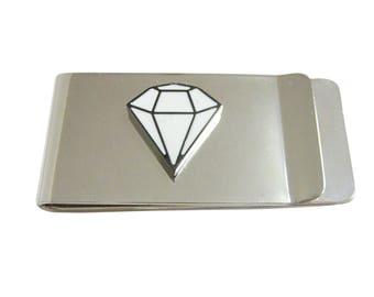 Diamond Outline Money Clip