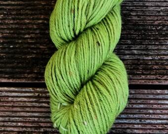 Hand Dyed Yarn - Vintage Tweed 8ply - Coriander