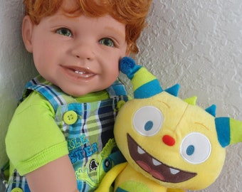 "Reborn 22"" Toddler Boy Doll ""Shawn"" - ""Tickle Monster"""