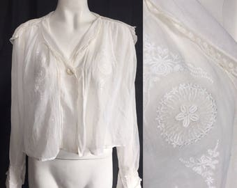1910s blouse with sailor collar