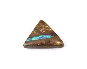 Australian Boulder Opal Cabochon