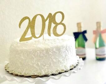 Cake Art Decor Zeitschrift 2018 : 2018 cake topper Etsy