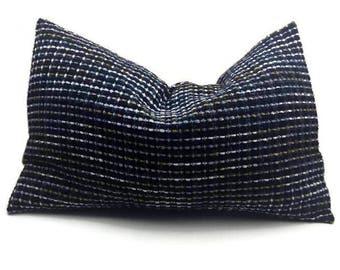 Stripey Decorative Oblong / Lumbar Throw Pillow Cover, Rectangular Cushion Cover