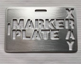 X-Ray Marker Plate