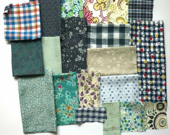 set of fabrics for patchwork 248 coupons