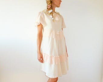 Romantic and boho dress