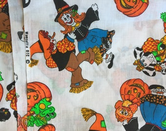 Vintage Halloween Fabric by Wamsutta 44 by 88 Inches