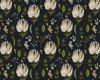 Lovey Floral Study Neutral. Lovey. Floral Lovey. Protea Lovey. Mini Baby Blanket. Security Blanket. Lovie. Minky Lovey.