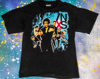 INXS  Rock Tour T-Shirt Size L