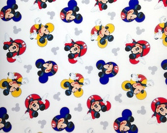 Mickey Mouse Fabric - Cotton Fabric - Springs Creative -  CC-07