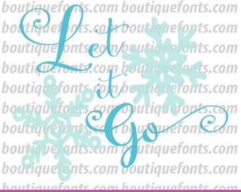 Let it Go Toilet Paper SVG Cut File - Instant Download