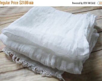 15%SALE White scarf, linen scarve, natural scarf, man women scarf, accessory