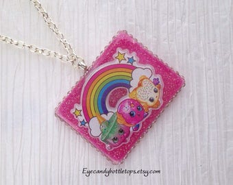 Shopkins Pink Charm Necklace