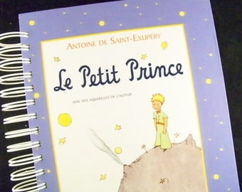 Little Prince Le Petit Prince French edition book journal diary planner