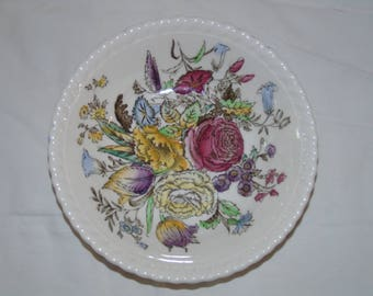 vintage Garden Bouquet Johnson Brothers  Windsor ware dessert fruit bowls