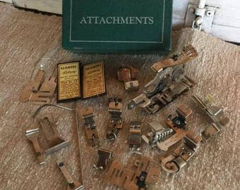 Greist Sewing Machine Attachments, Vintage Sewing Machine Parts, Sewing Machine Accessories