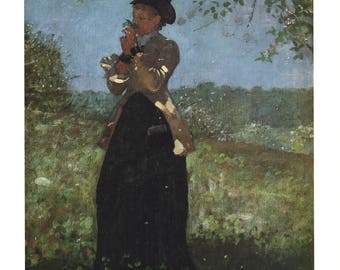 Winslow Homer-The Yellow Jacket-1991 Poster