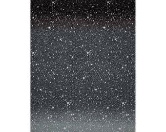 Half Metre I Want My Space Astral Stars Quilting Fabric - 50cm x 150cm