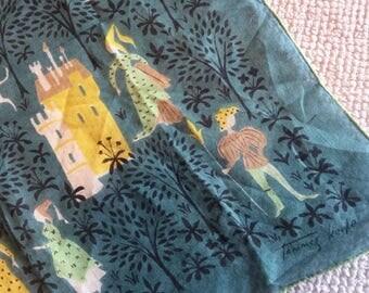 Fairytale Kingdom Tammis Keefe Hankie